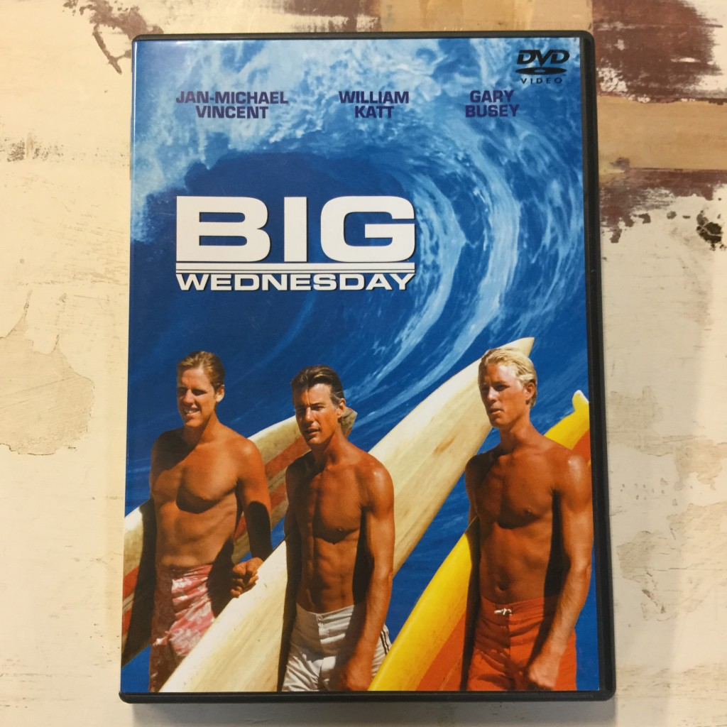 BIG WEDNESDAY SURF MOVIE DVD