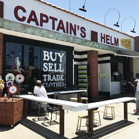 ocean side captains helm キャプテンズヘルム