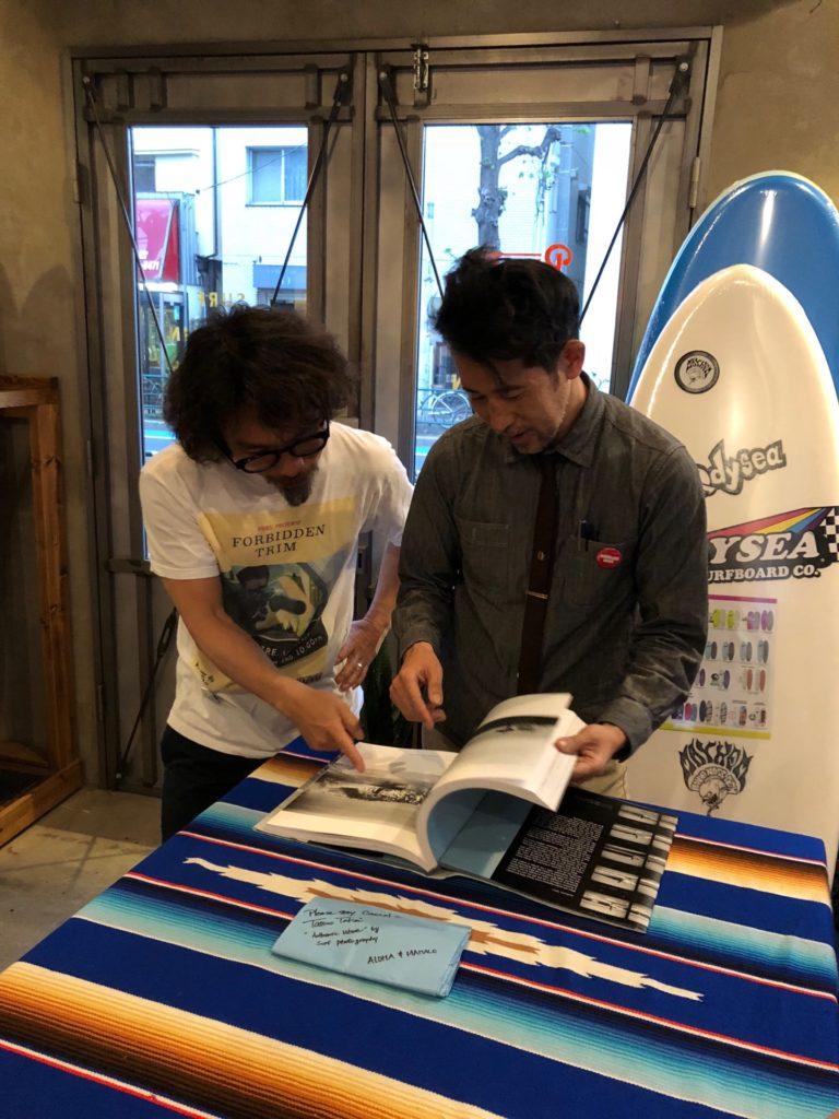 竹井達男 ブライン サーフショップ brine surf shop tatsuo takei autentic wave