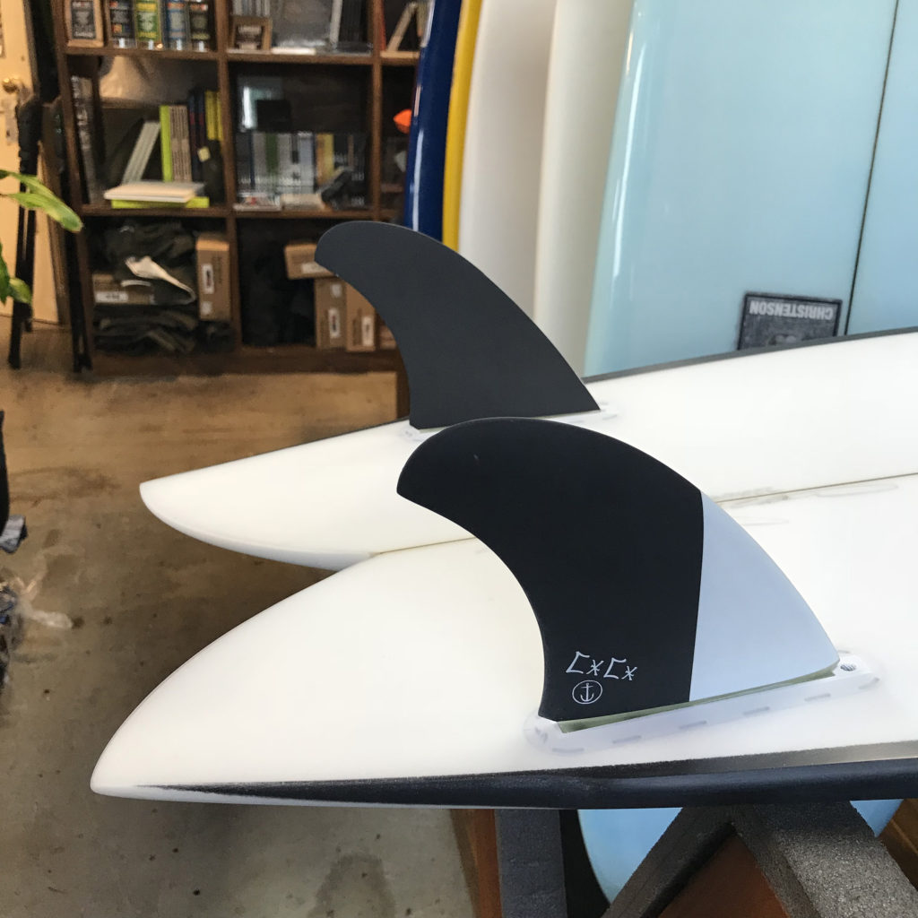 クリステンソンサーフボード キャプテンフィン cc captain fin christenson twin fin ブライン サーフショップ