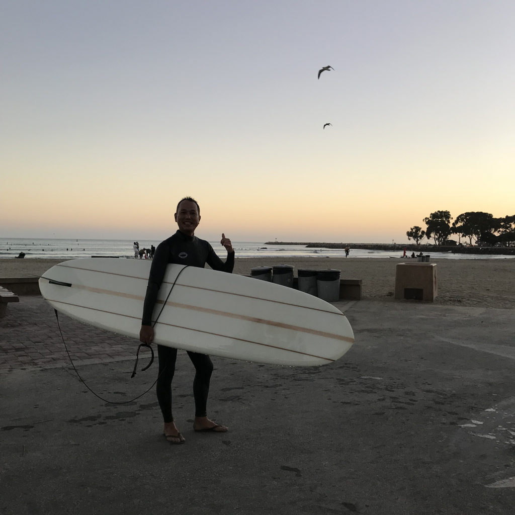 brine surfshop california trip ブライン フジヤマさん