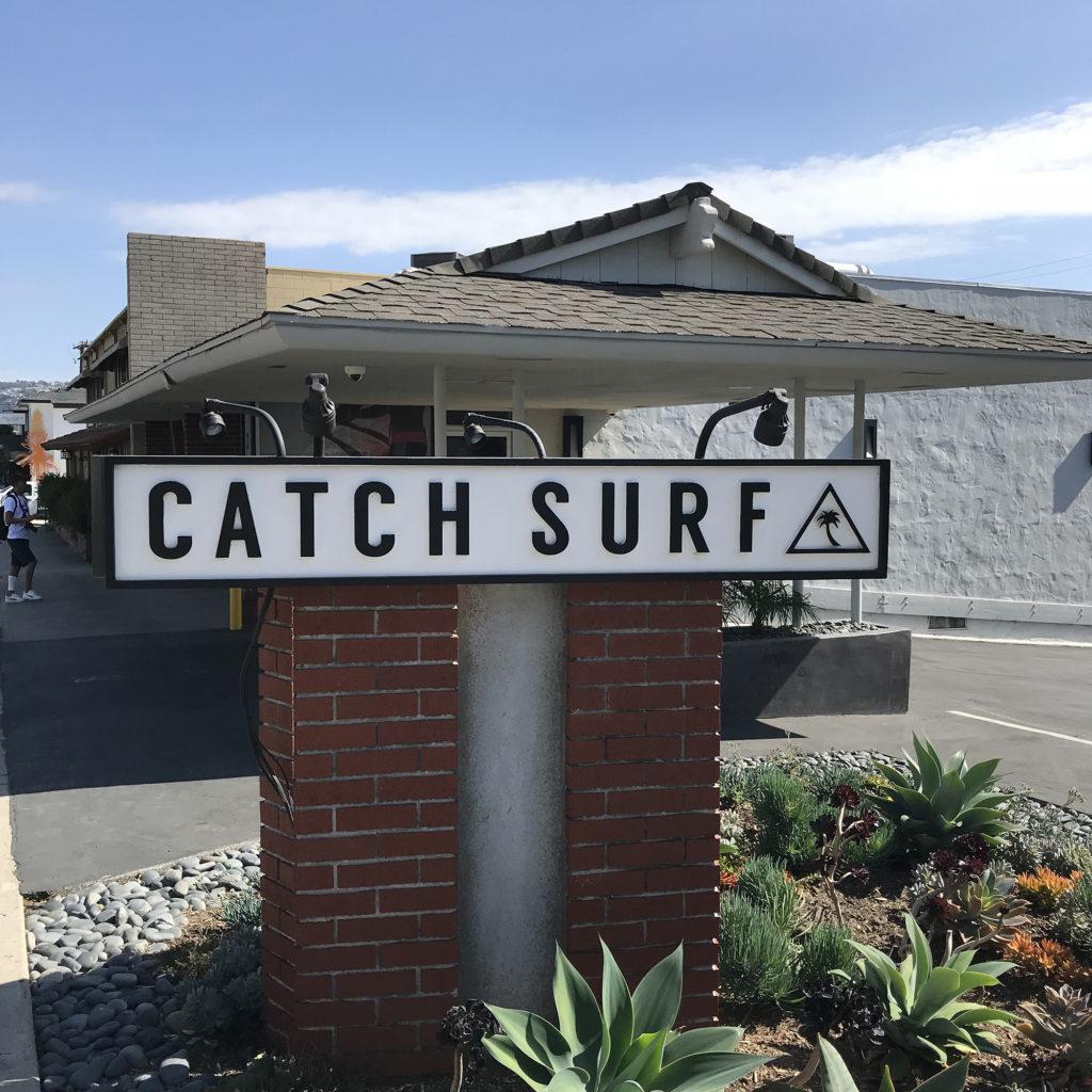 ブライン カリフォルニア トリップ サーフショップ brine catch surf