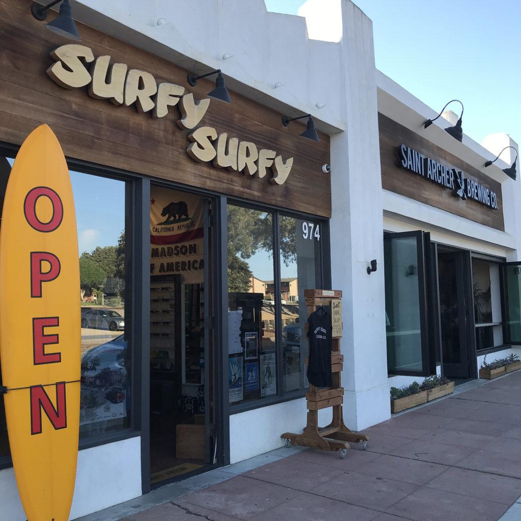 ブライン サーフショップ カリフォルニア トリップ SURFY SURFY BRINE