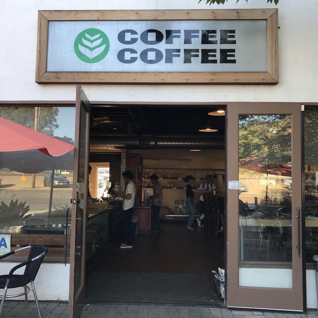 ブライン サーフショップ カリフォルニア トリップ COFFEE COFFEE BRINE