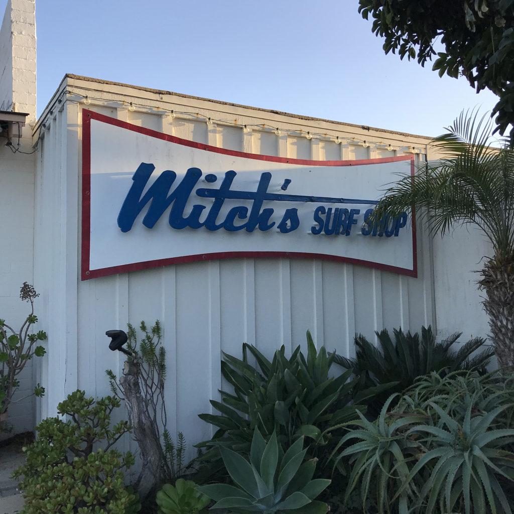 Mitch's surf shop ブライン サーフショップ カリフォルニア トリップ brine