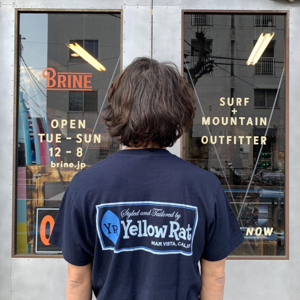 イエローラット ブライン yellow rat brine logo tee
