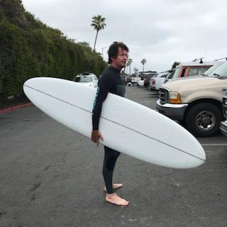 ハンツマン クリステンソン surfboard