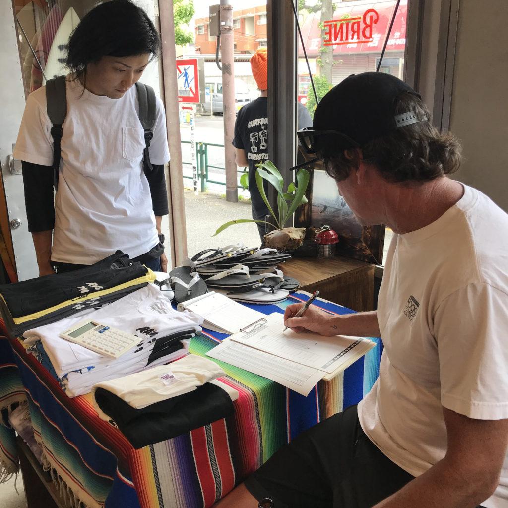 クリステンソン surfboard カスタムオーダー ブライン サーフショップ 東京