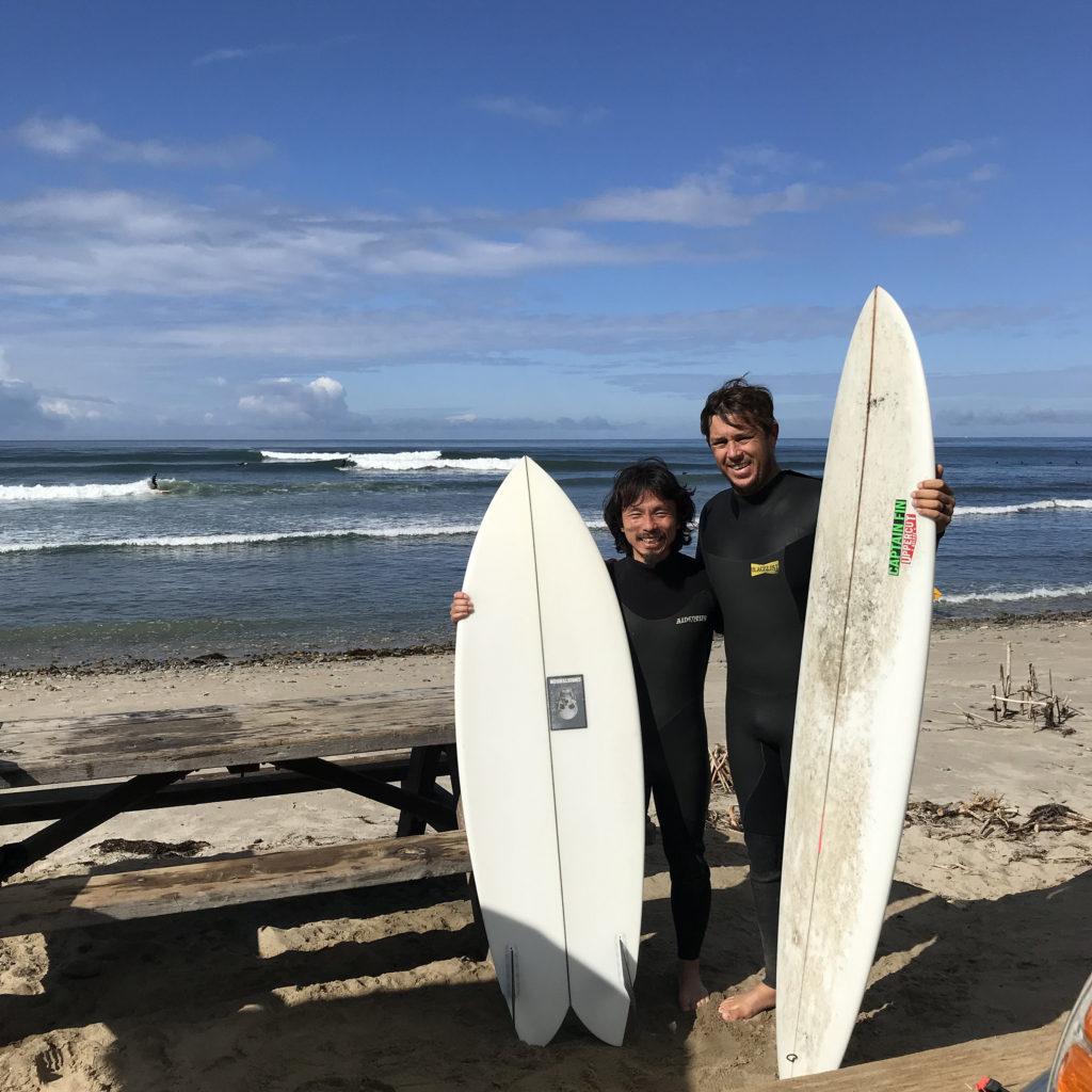 ブライン カルフォルニア ブログ JJ wessels san onofre christenson クリステンソン brine surf shop tokyo