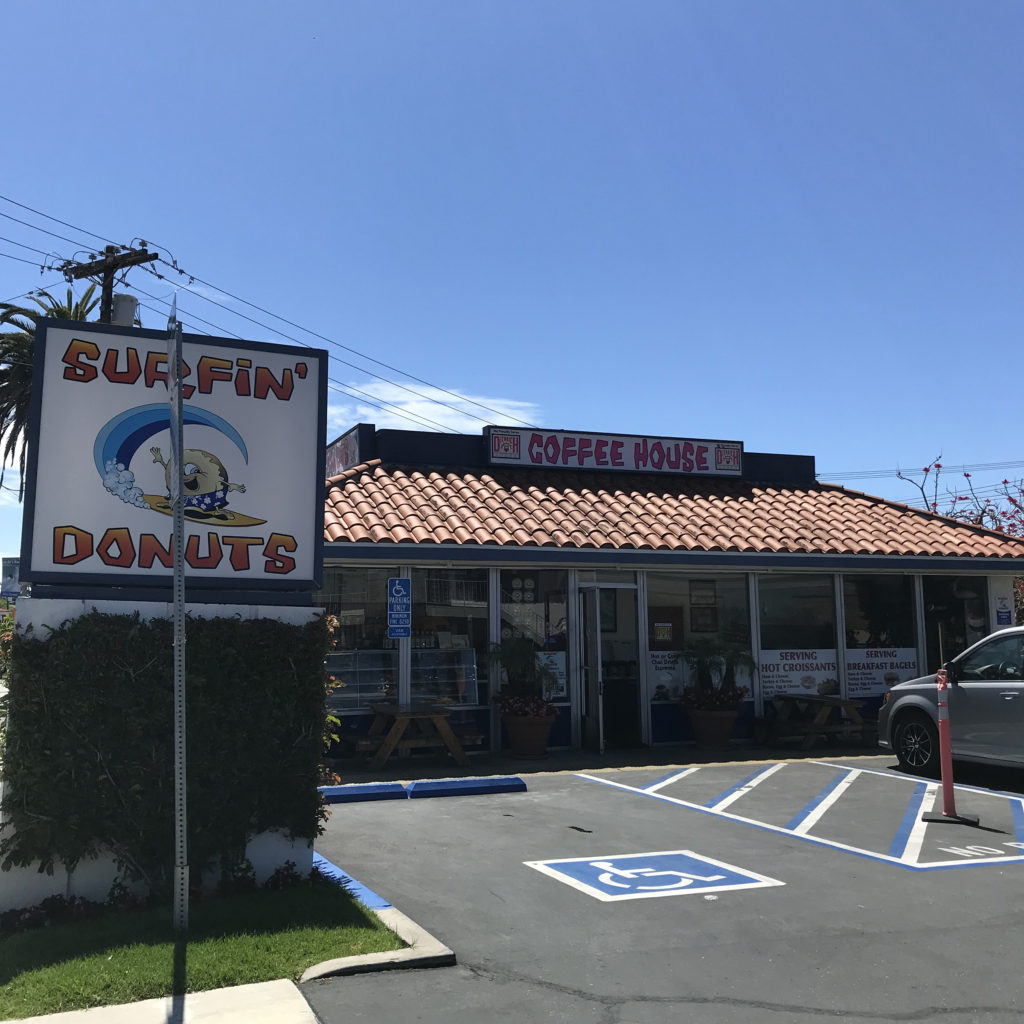surfin donuts san clemente california blog brine ブライン サーフィン ドーナッツ