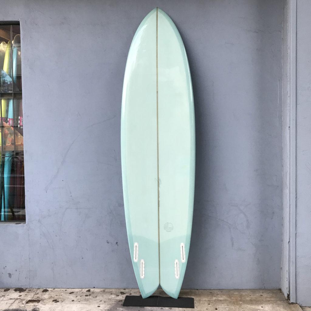 中古サーフボード ミッツベン ブライン brine mitsven used surfboard long fish