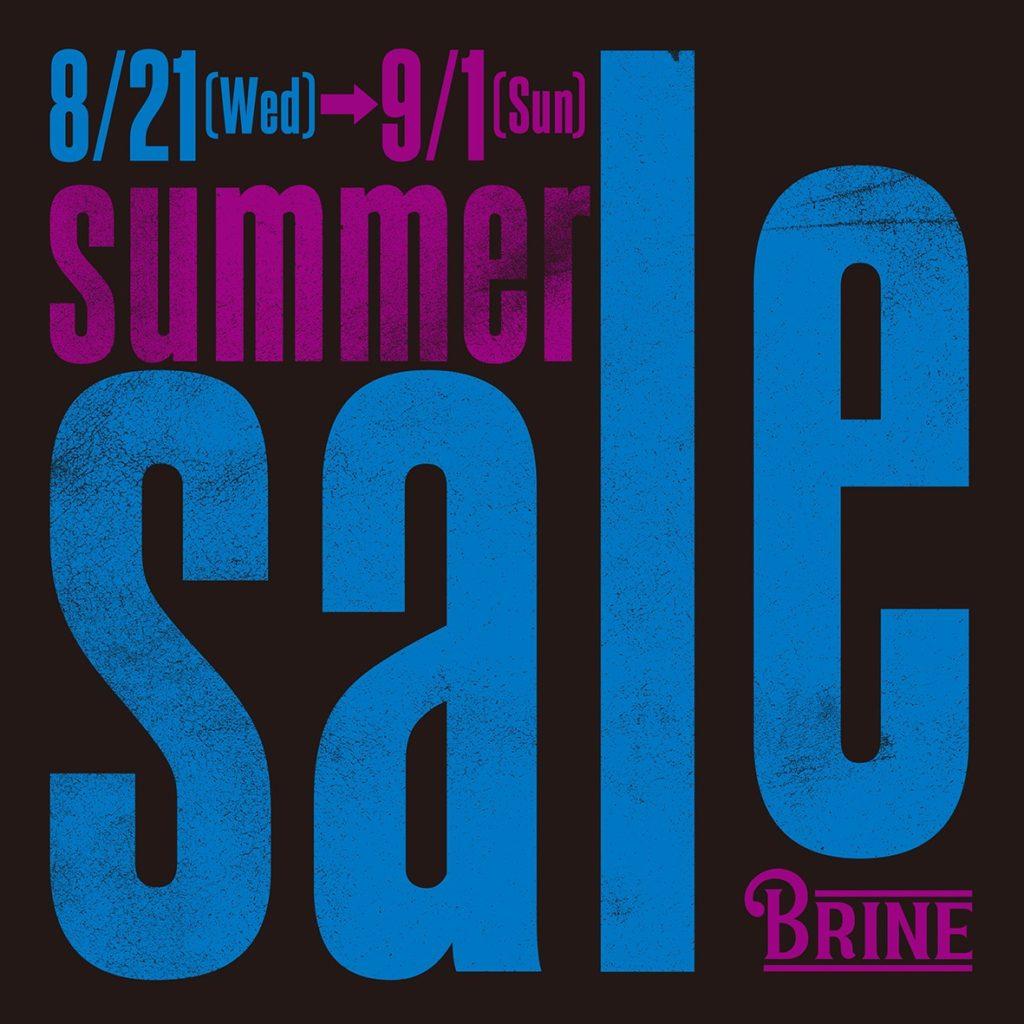 ブライン セール brine surfshop sale tokyo サーフショップ