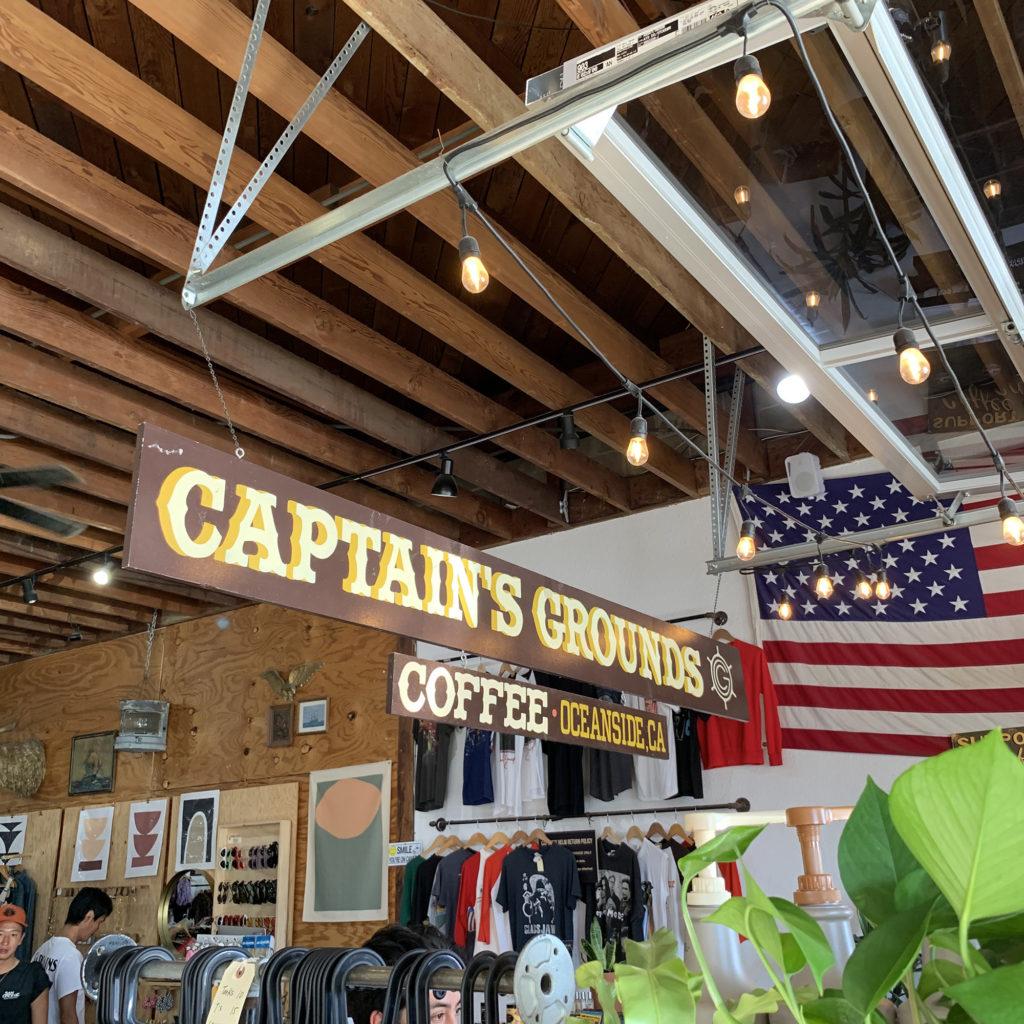 キャプテンズヘルム オーシャンサイド ブライン サーフショップ カリフォルニア