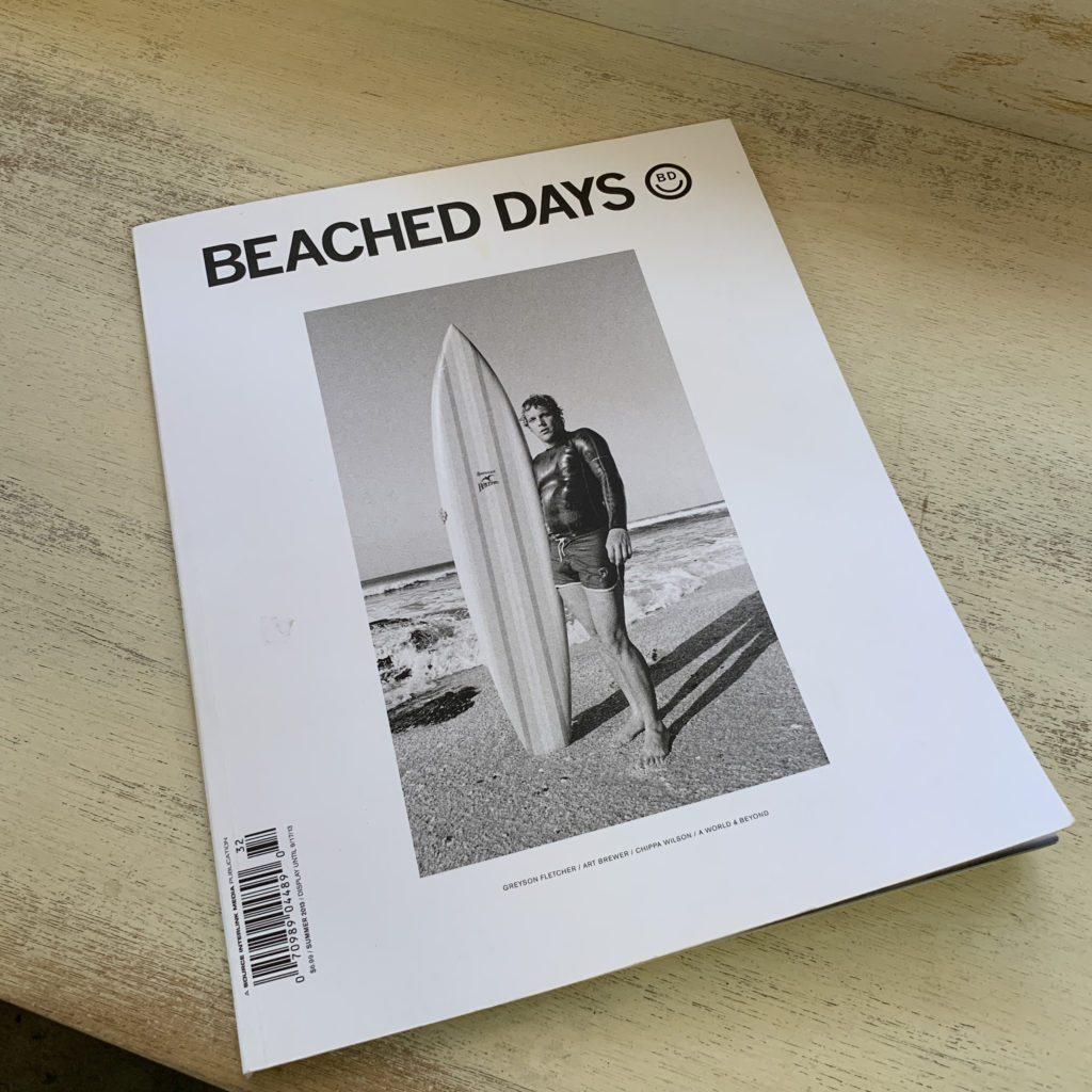 beached days magazine brine surfshop ブライン サーフショップ