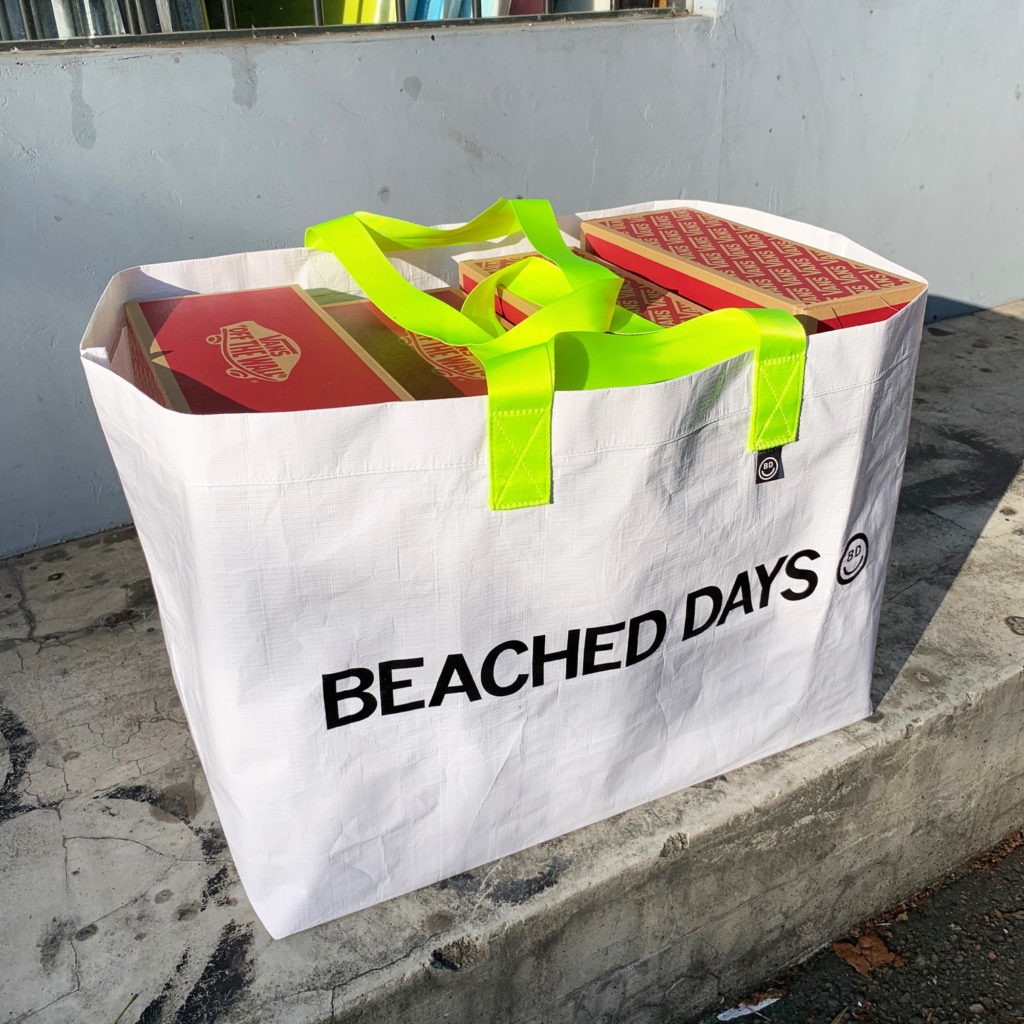 ブライン 別注  BEACHED DAYS PP BAG  YS