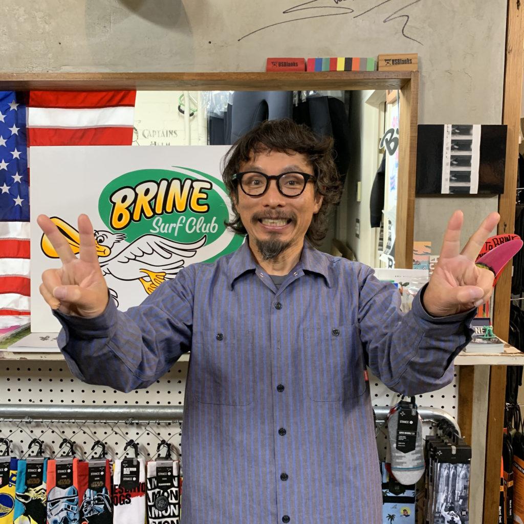 ブライン brine サーフショップ 東京