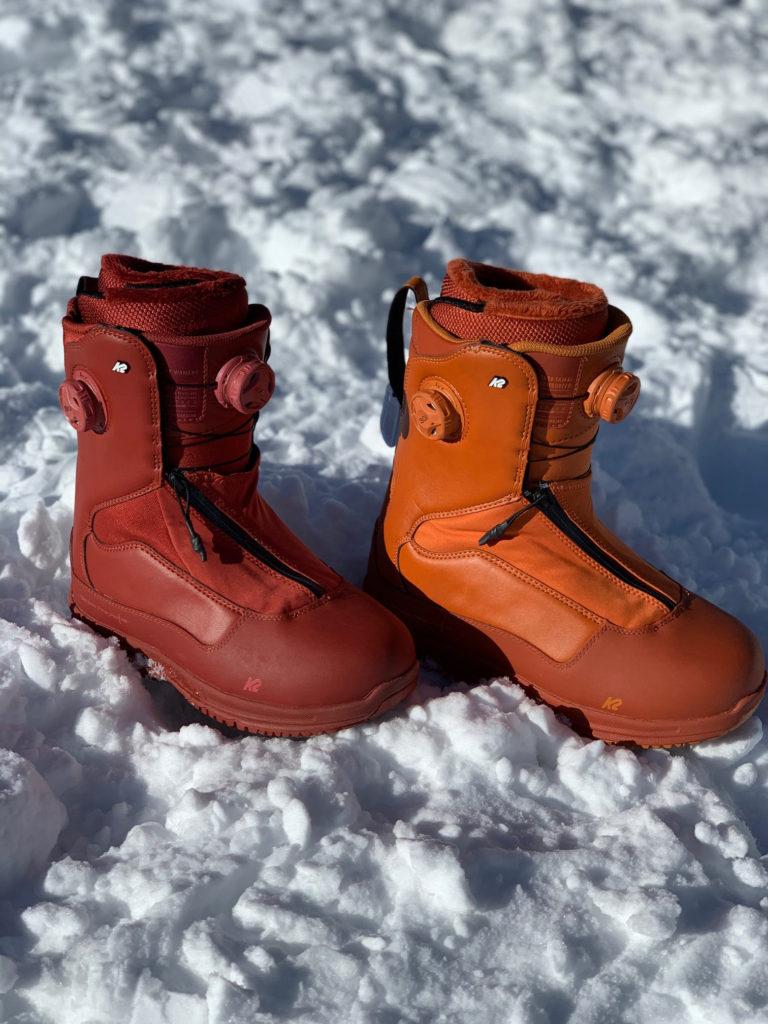 ゲンテンスティック K2 TT SNOWSURFER BOOTS BRINE