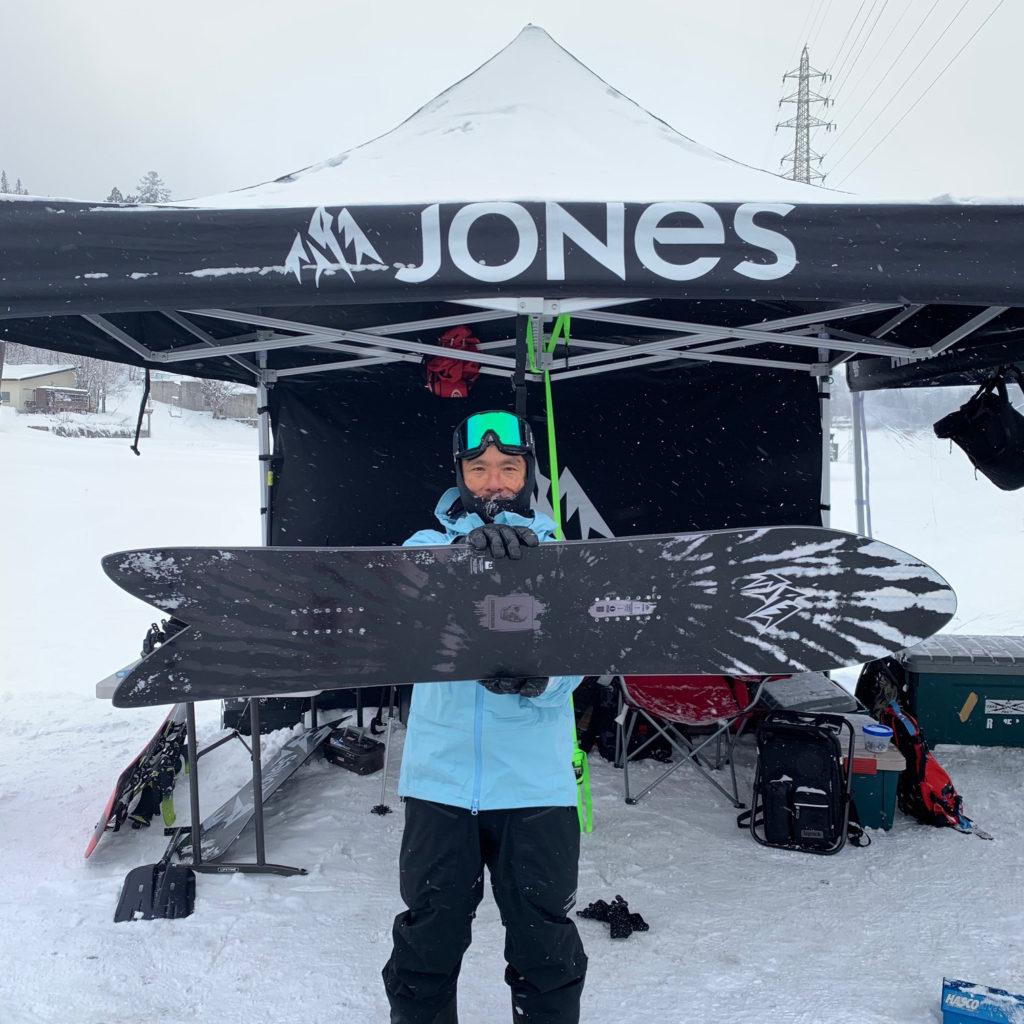jones snowboards storm wolf christenson brine クリステンソン ブライン ストームウルフ