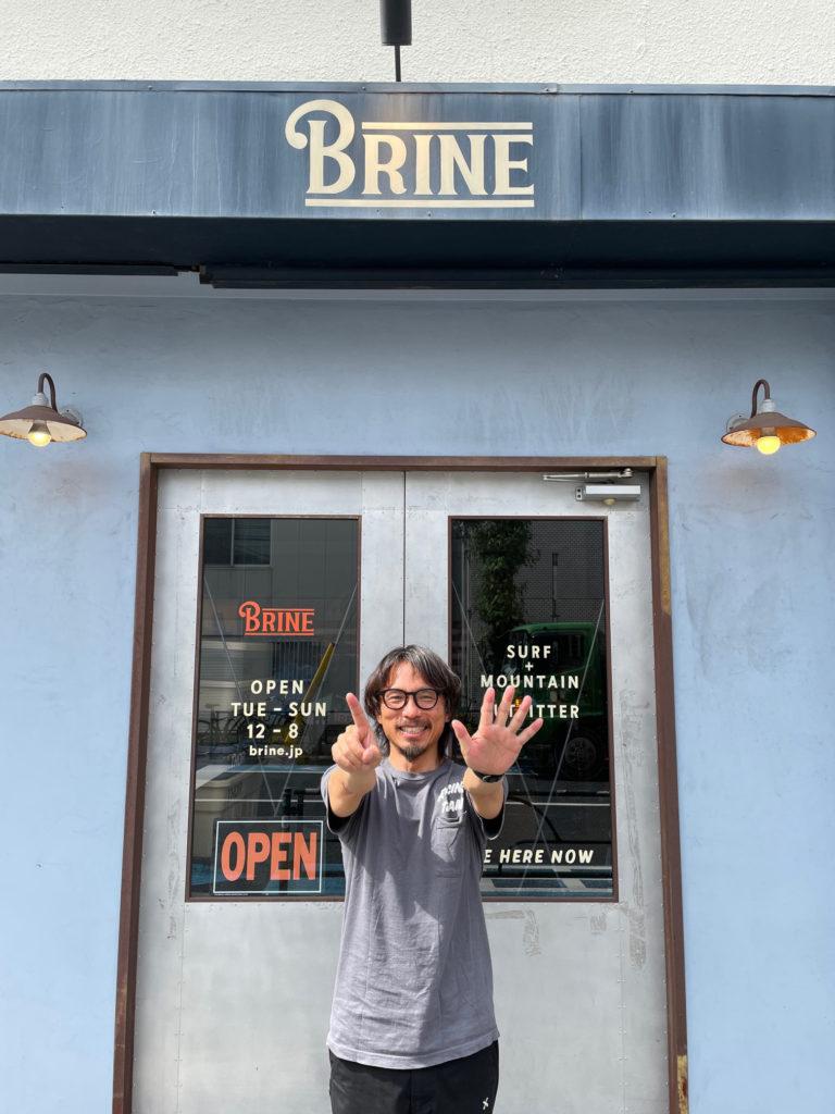 ブライン brine surf shop tokyo サーフショップ
